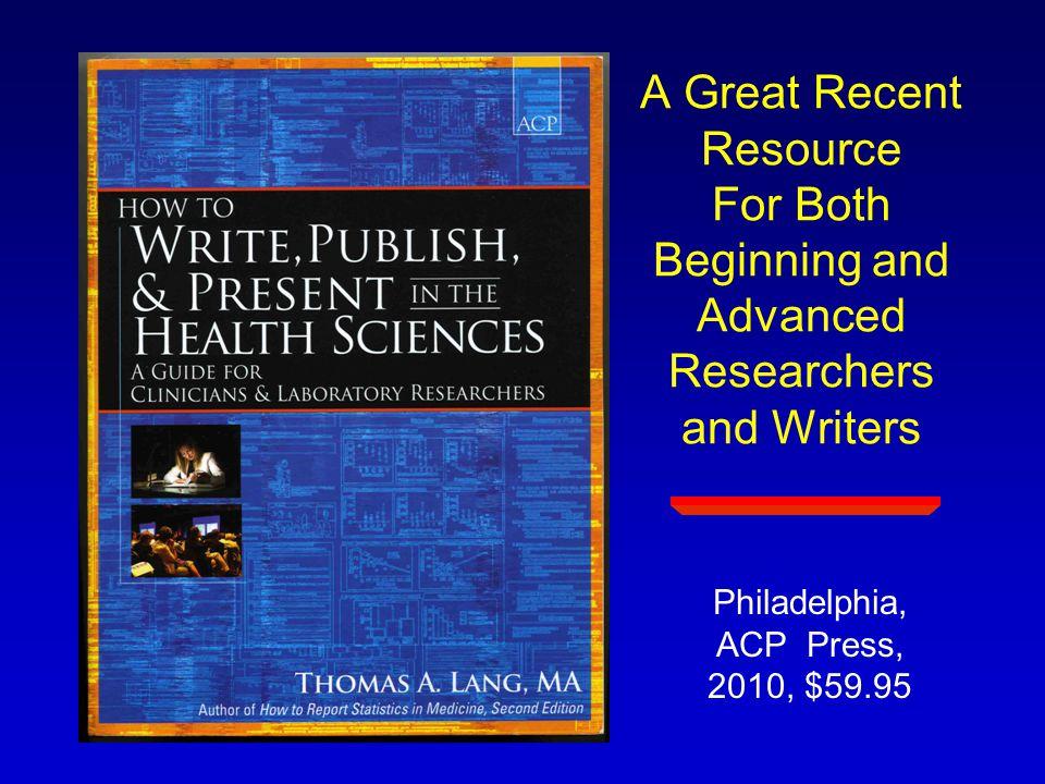 Philadelphia, ACP Press, 2010, $59.95