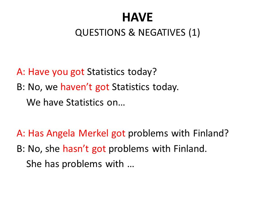 HAVE QUESTIONS & NEGATIVES (1)