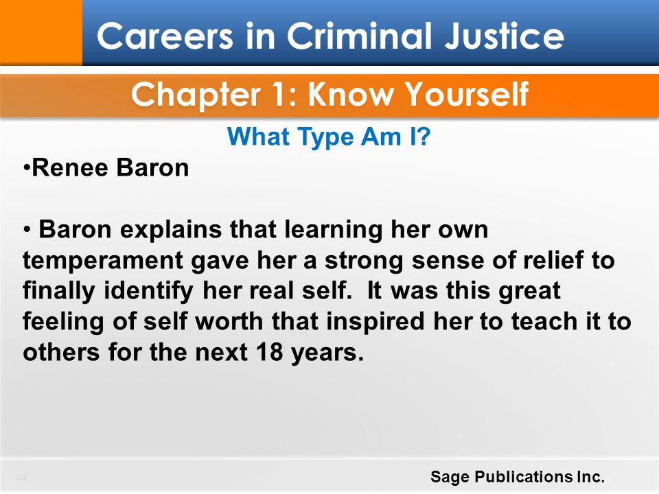 Chapter 1: Know Yourself