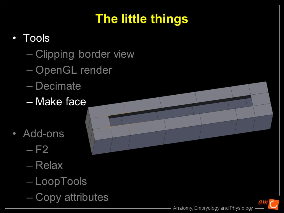 The little things Tools Clipping border view OpenGL render Decimate