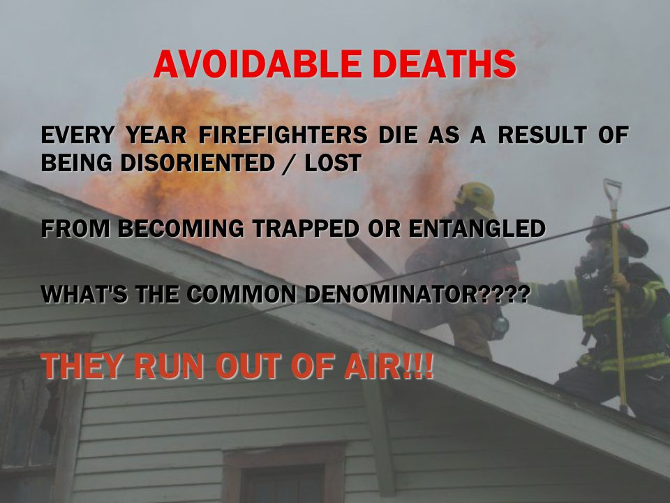 AVOIDABLE DEATHS THEY RUN OUT OF AIR!!!