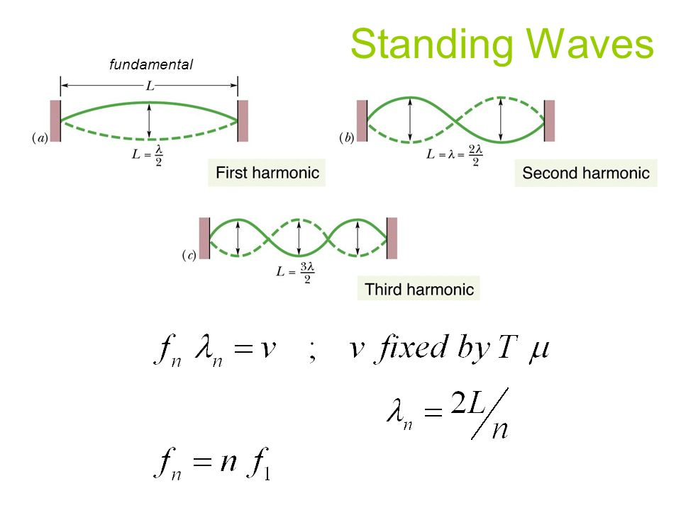 Standing Waves fundamental