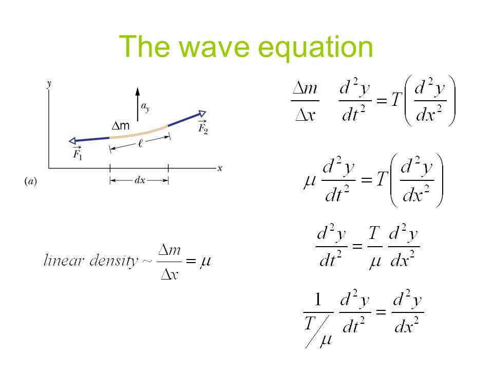 The wave equation Dm