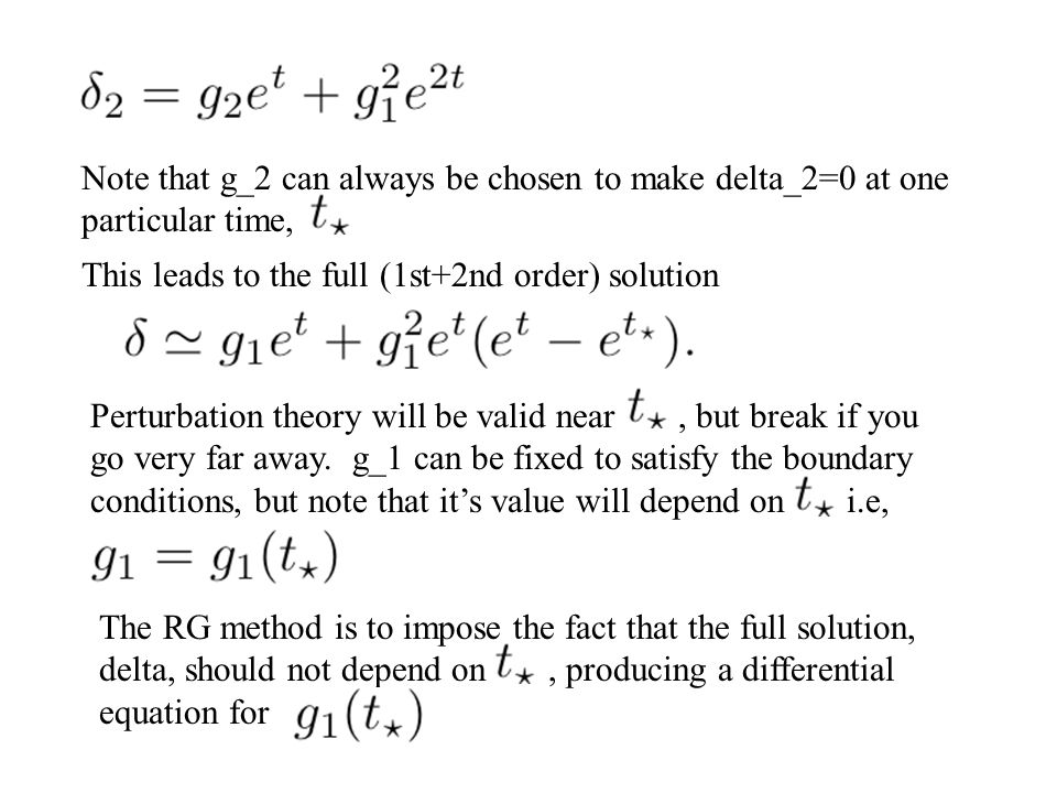 Note that g_2 can always be chosen to make delta_2=0 at one particular time,