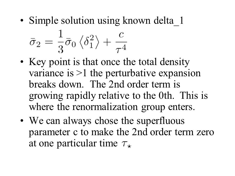 Simple solution using known delta_1