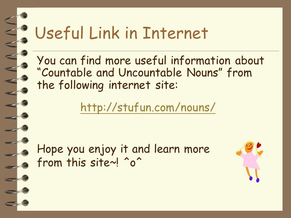 Useful Link in Internet