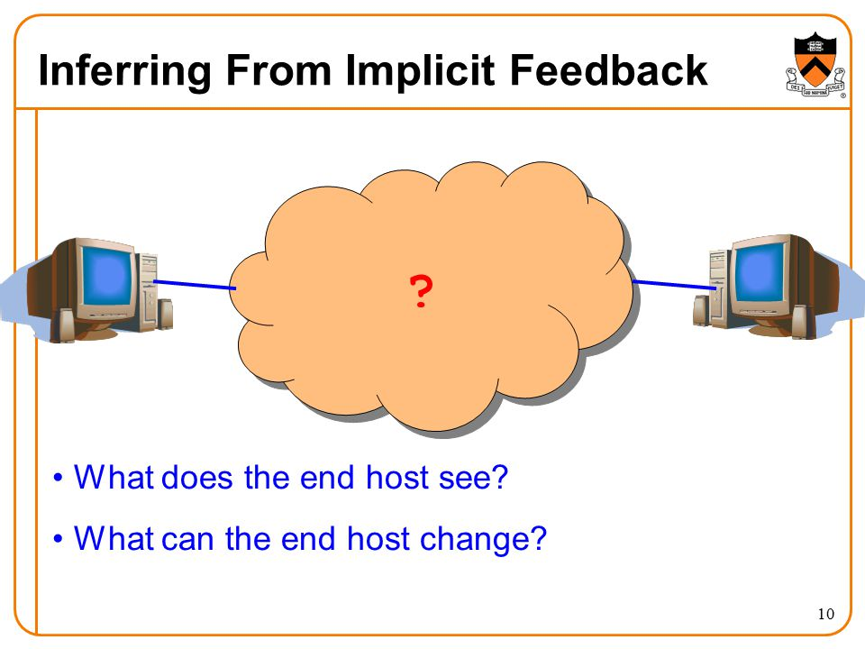 Inferring From Implicit Feedback