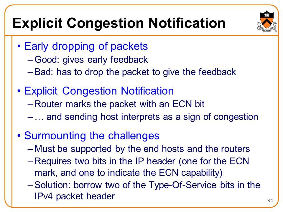 Explicit Congestion Notification