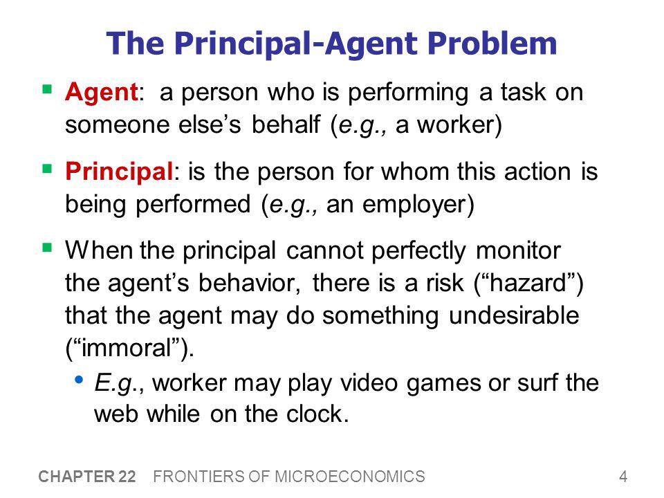How Principals May Respond