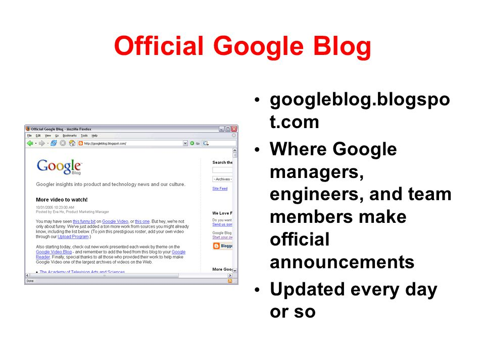 Official Google Blog googleblog.blogspot.com
