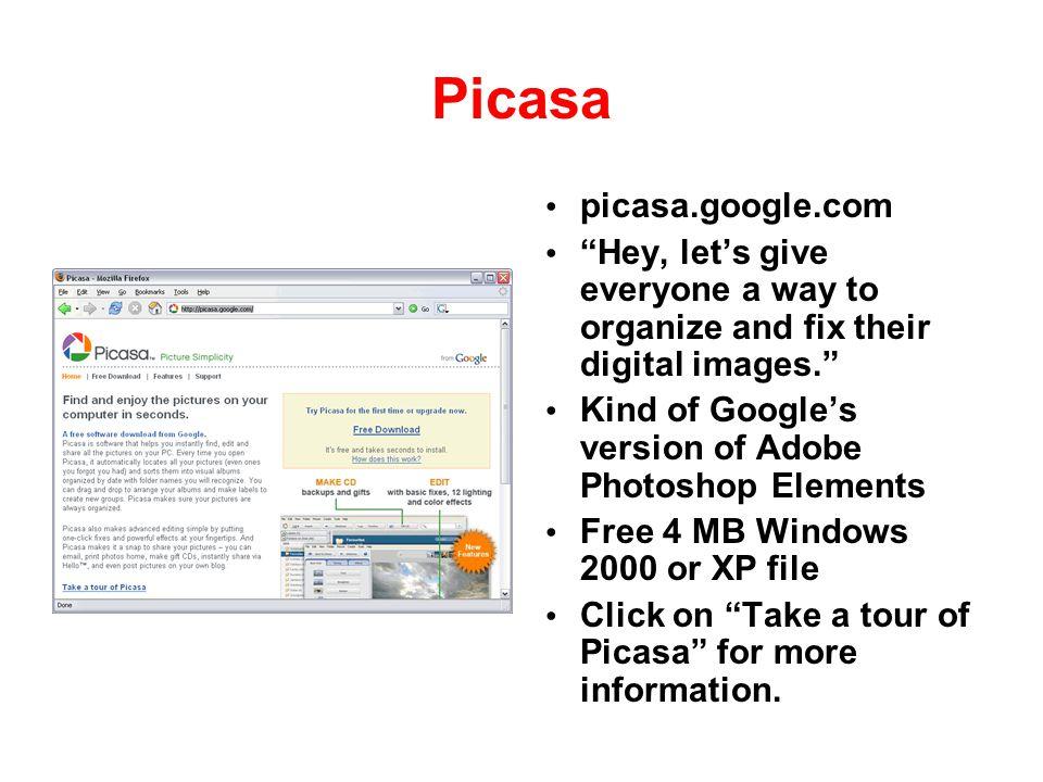 Picasa picasa.google.com