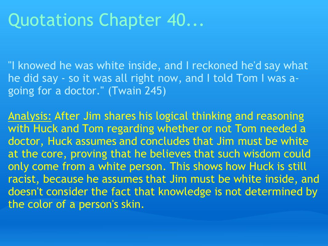 Quotations Chapter 40...