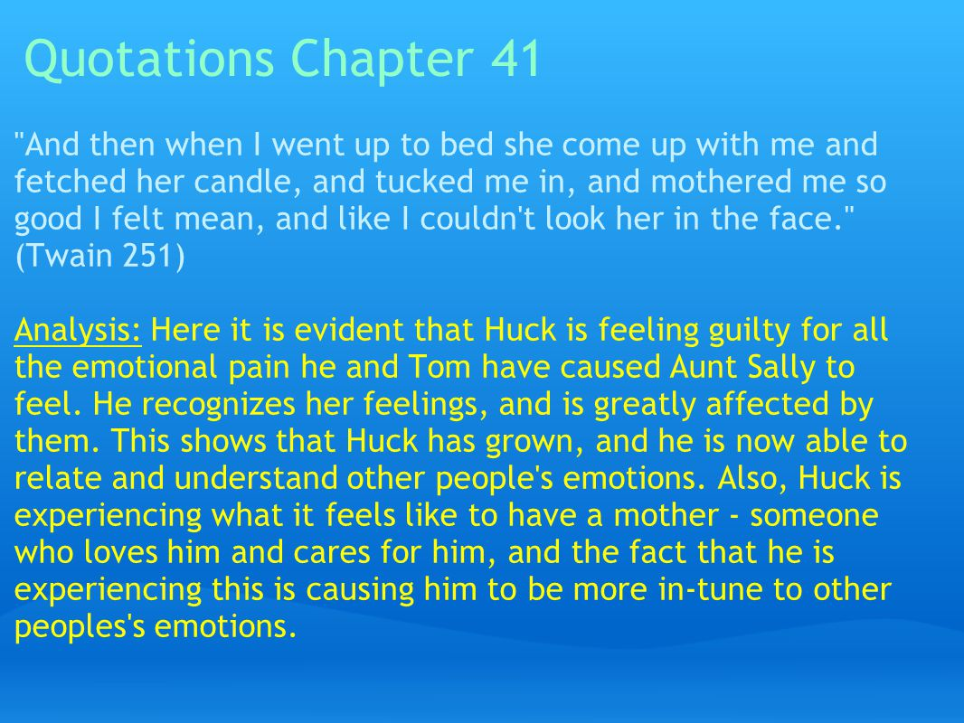 Quotations Chapter 41