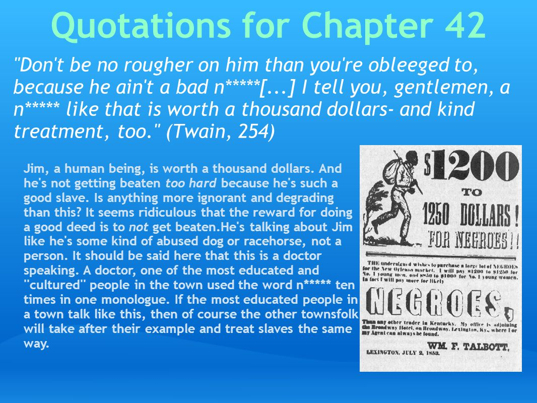 Quotations for Chapter 42