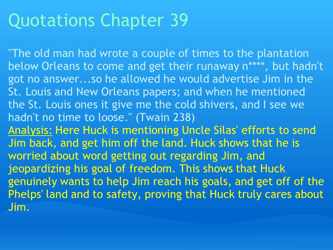 Quotations Chapter 39
