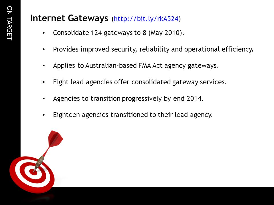 Internet Gateways (http://bit.ly/rkA524)