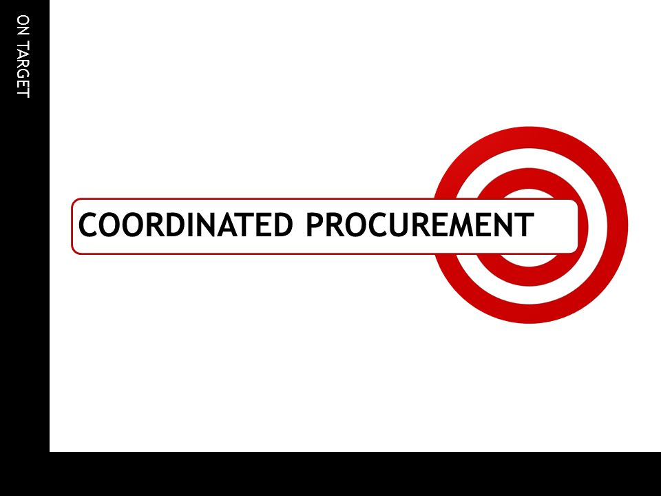 Coordinated procurement