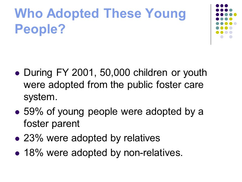 Who Adopted These Young People