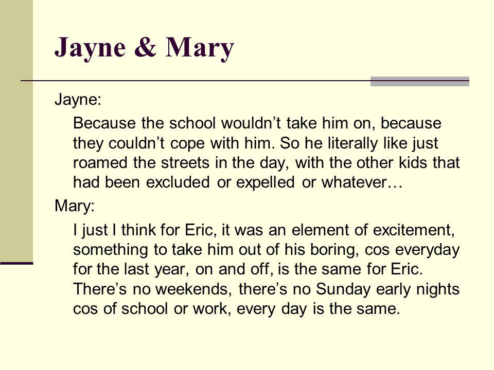 Jayne & Mary Jayne: