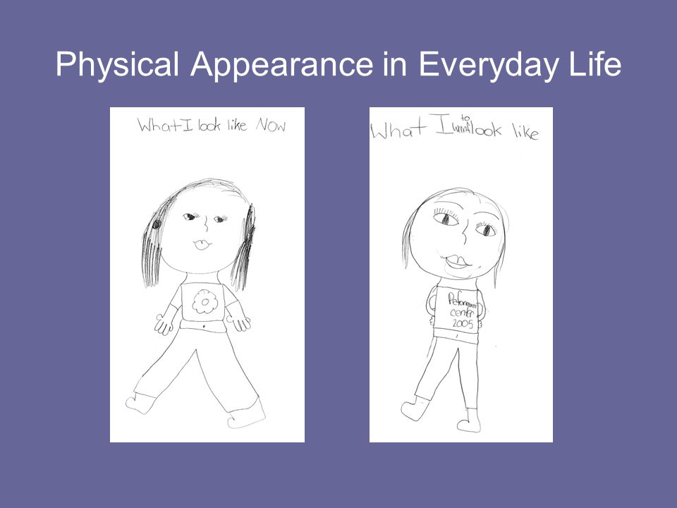 Physical Appearance in Everyday Life