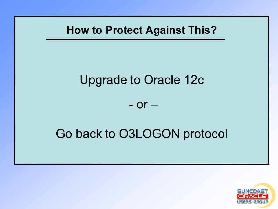Go back to O3LOGON protocol