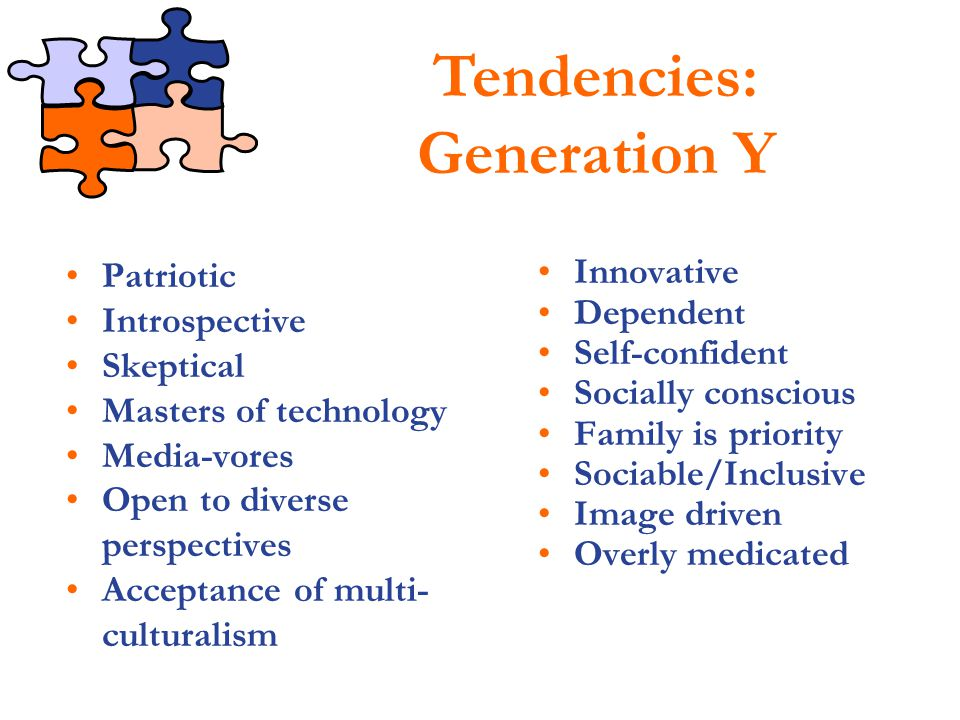 Tendencies: Generation Y