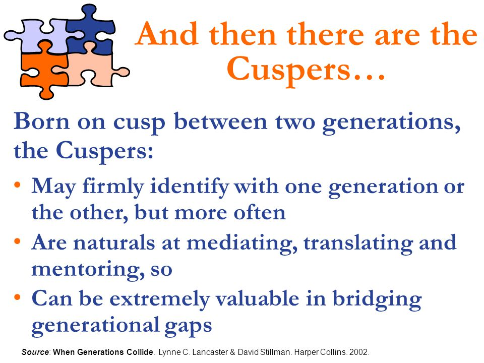 And then there are the Cuspers…