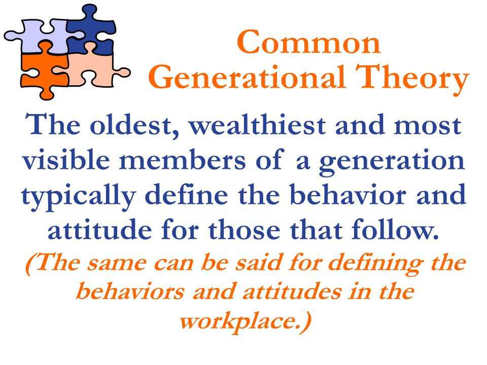 Common Generational Theory