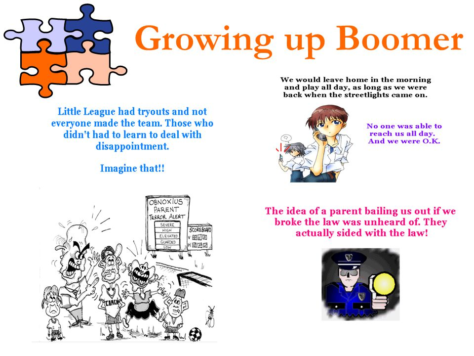 Growing up Boomer