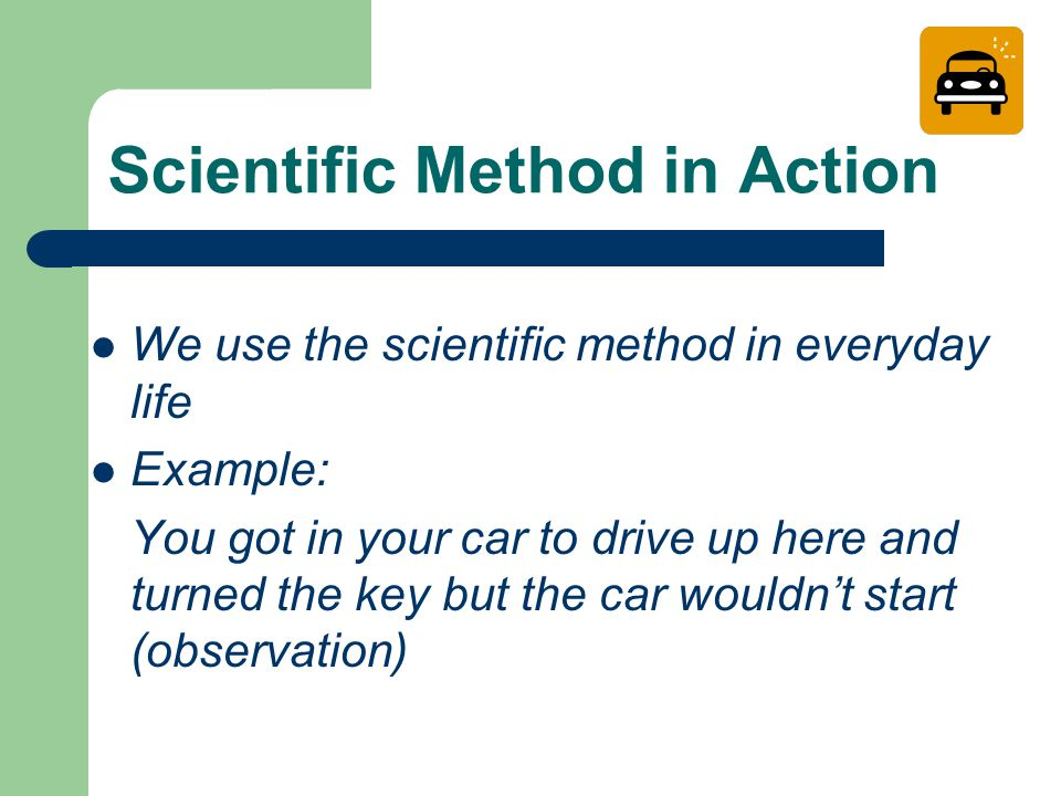 what is scientific method use for The scientific method is a systematic way of learning about the world around us and answering questions the key difference between the scientific method and other ways of acquiring knowledge are forming a hypothesis and then testing it with an experiment sometimes the scientific method is taught.