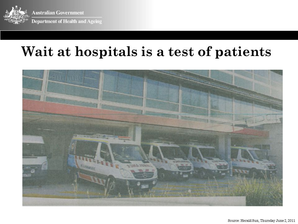 Wait at hospitals is a test of patients