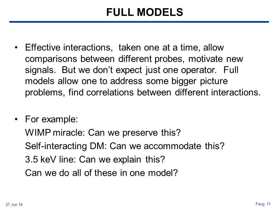 FULL MODELS