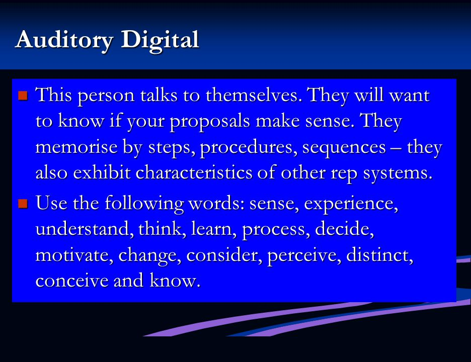 Auditory Digital