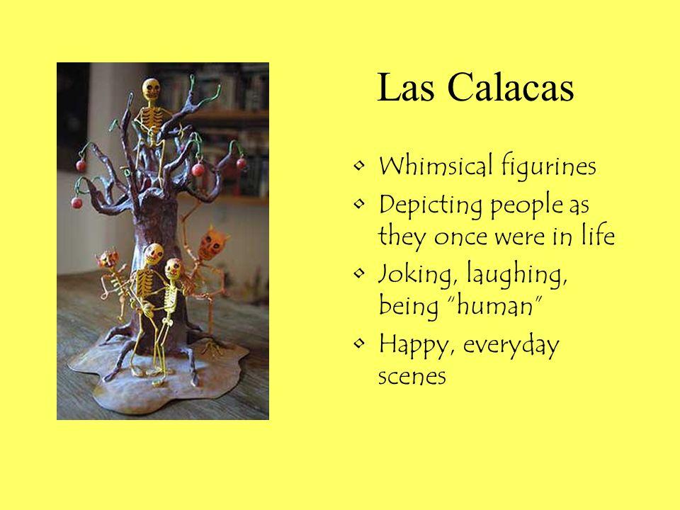 Las Calacas Whimsical figurines