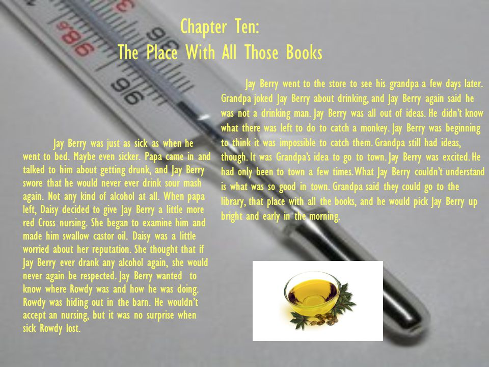 Chapter Ten: The Place With All Those Books