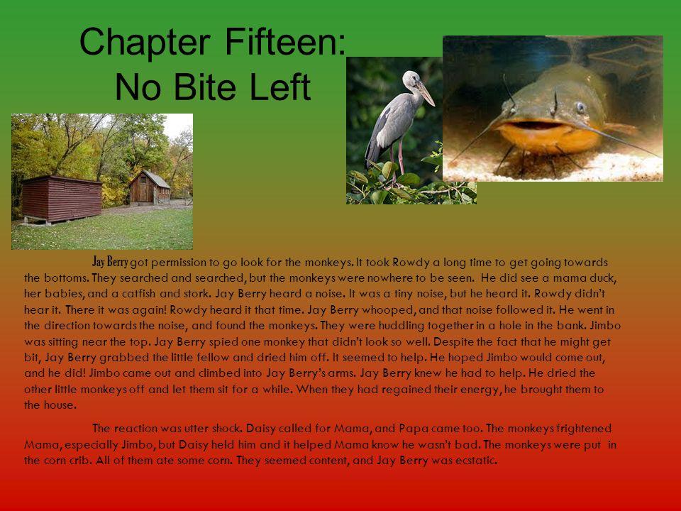 Chapter Fifteen: No Bite Left