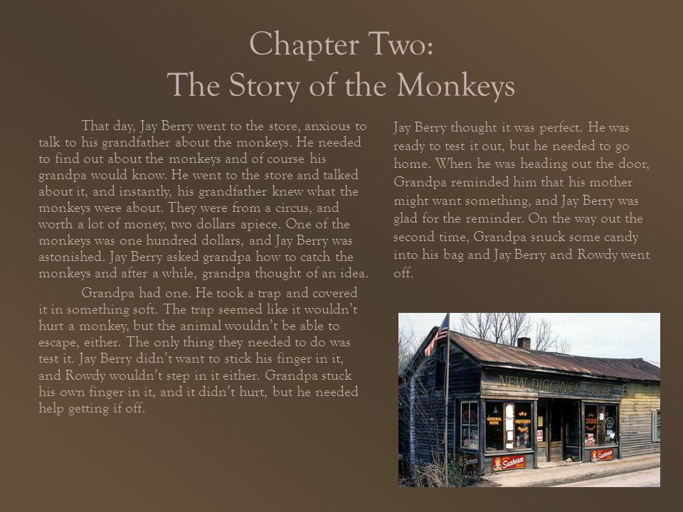 Chapter Two: The Story of the Monkeys