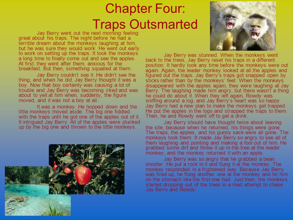 Chapter Four: Traps Outsmarted