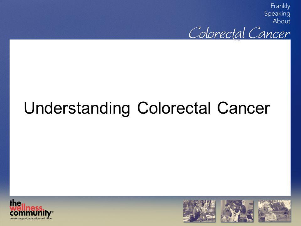 Understanding Colorectal Cancer