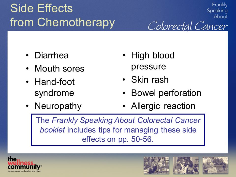 Side Effects from Chemotherapy