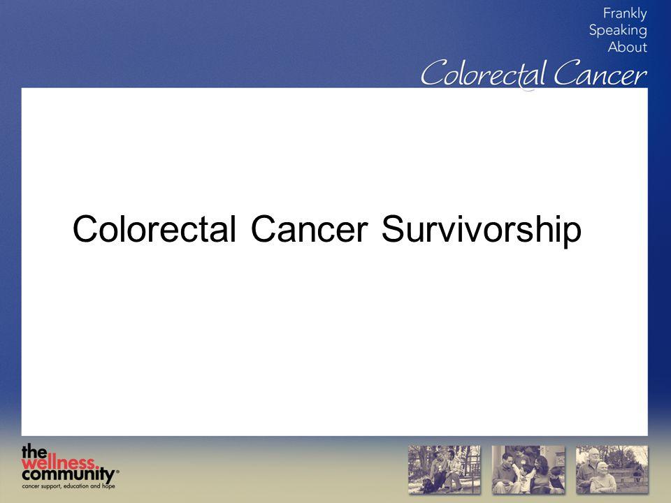 Colorectal Cancer Survivorship