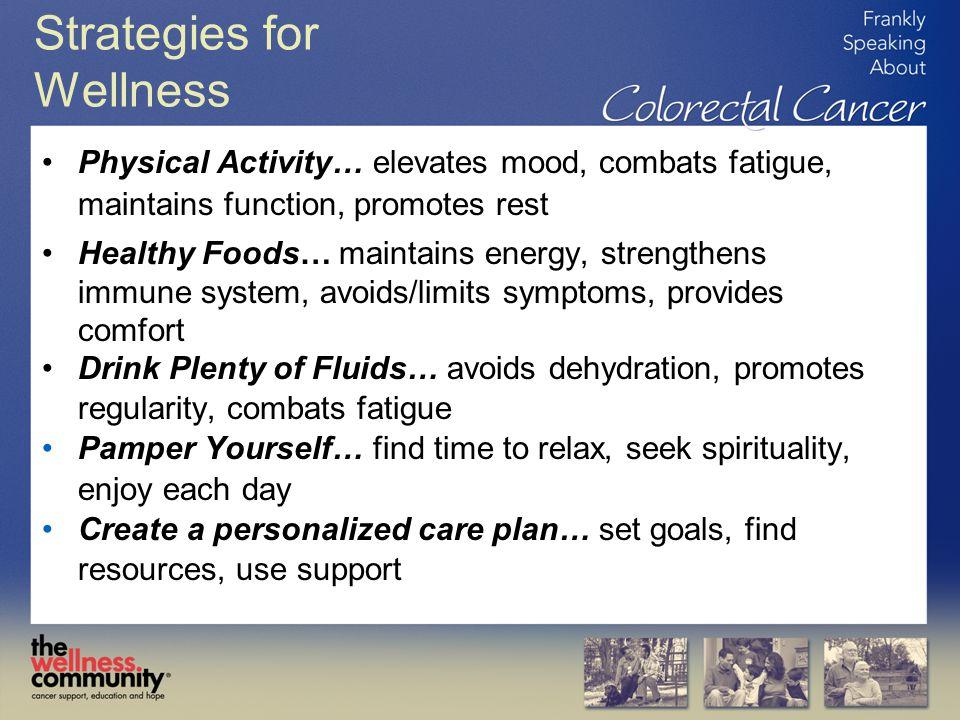 Strategies for Wellness