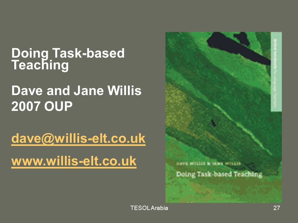 Dave and Jane Willis 2007 OUP
