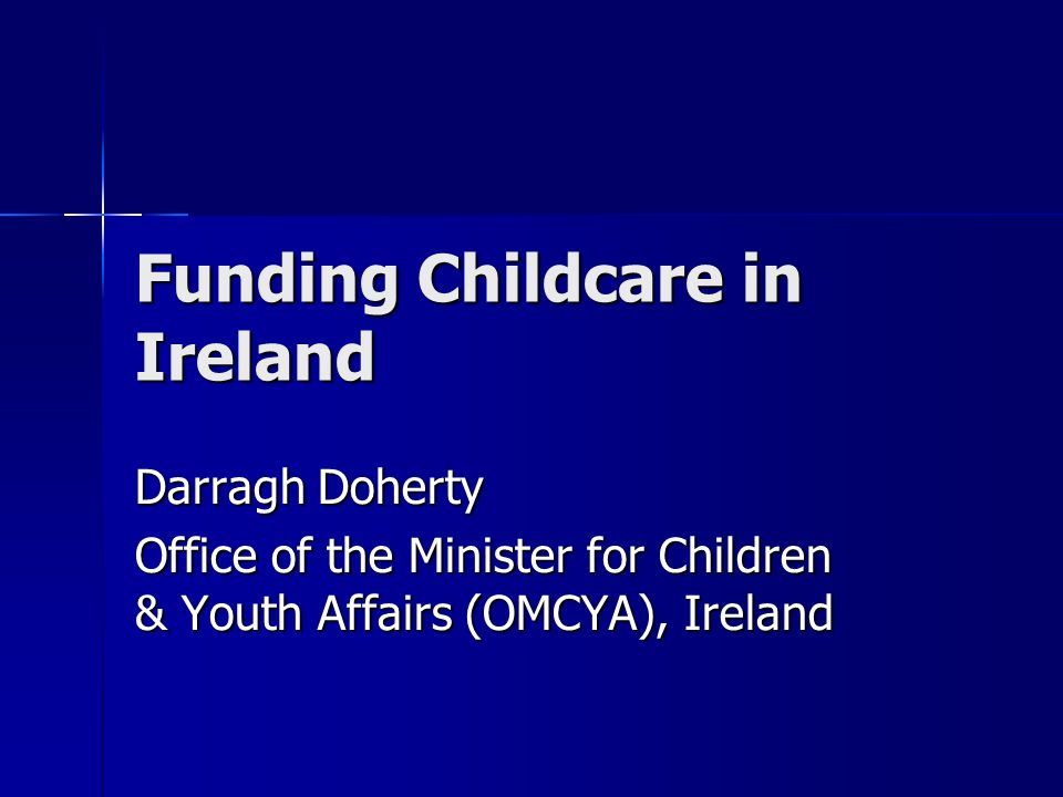 Funding Childcare in Ireland