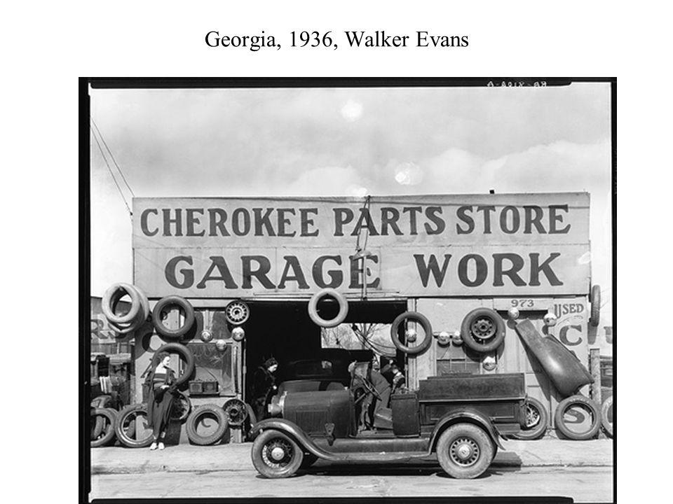 Georgia, 1936, Walker Evans