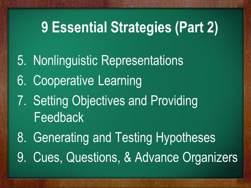 9 Essential Strategies (Part 2)