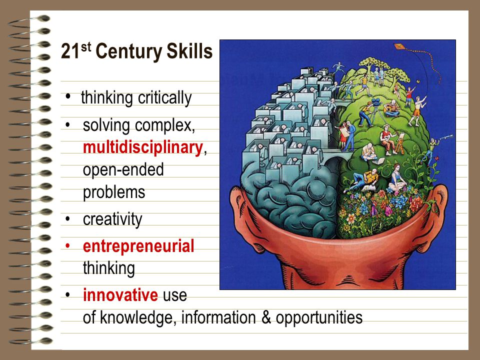 21st Century Skills • thinking critically