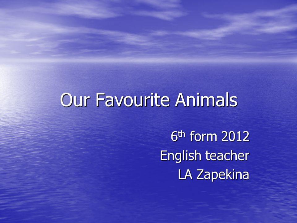 6th form 2012 English teacher LA Zapekina