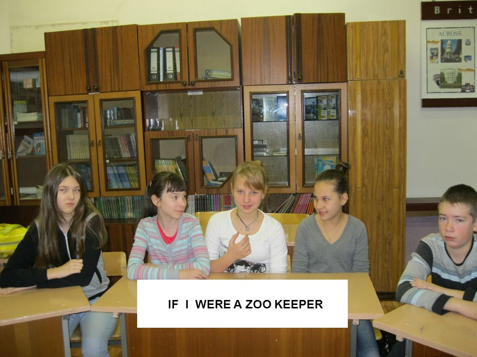 IF I WERE A ZOO KEEPER