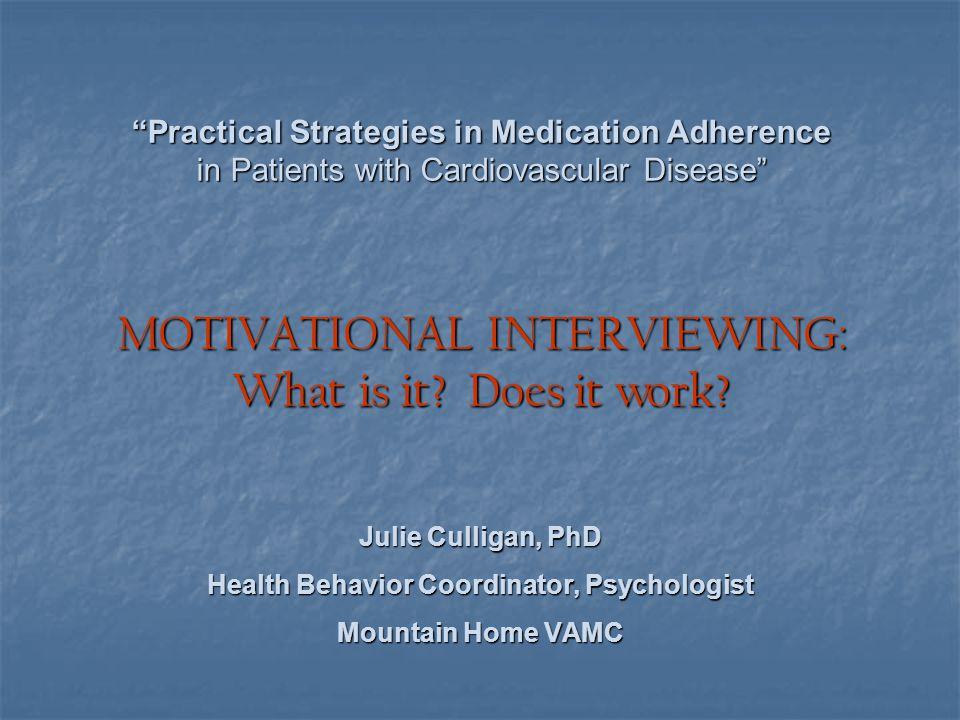 Health Behavior Coordinator, Psychologist